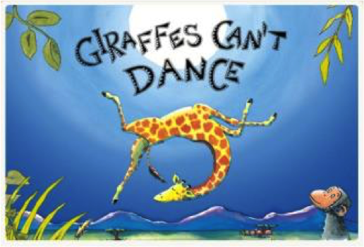 Giraffes Cant Dance Book