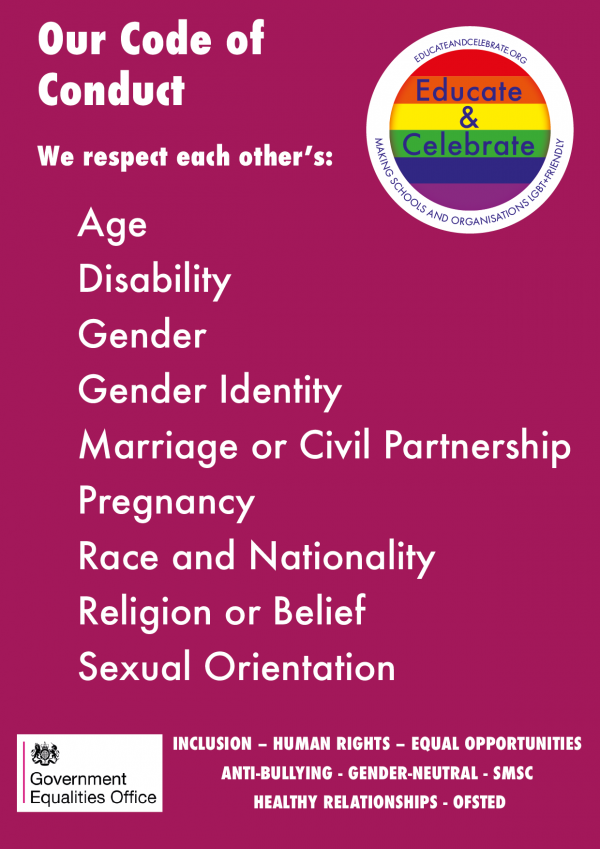 Best Practice. LGBT+. Lesbian, Gay, Bisexual, Trans, Training, Education