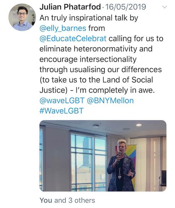 Tweet from Julian Phatarfod