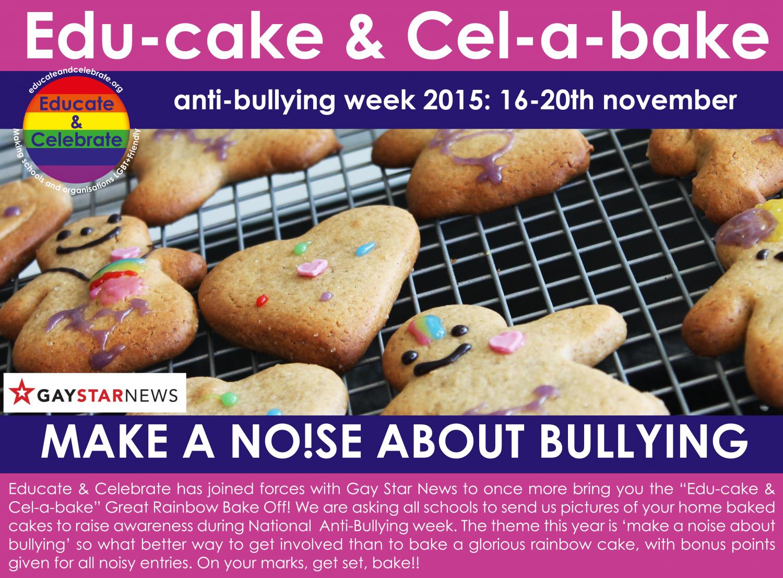 Rainbow, Bake off, Competition, Edu-cake & Cel-a-bake
