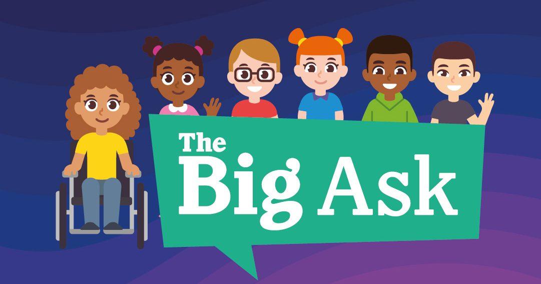 The Big Ask logo